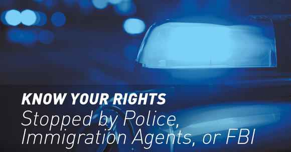Know Your Rights graphic